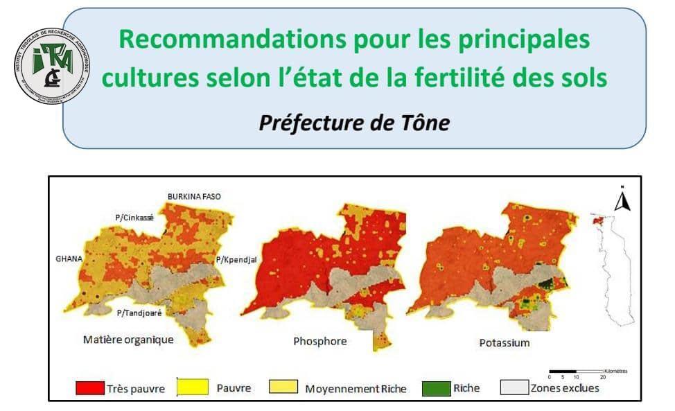 Nouvelles recommandations pour la réussite des principales cultures dans la préfecture de Tône